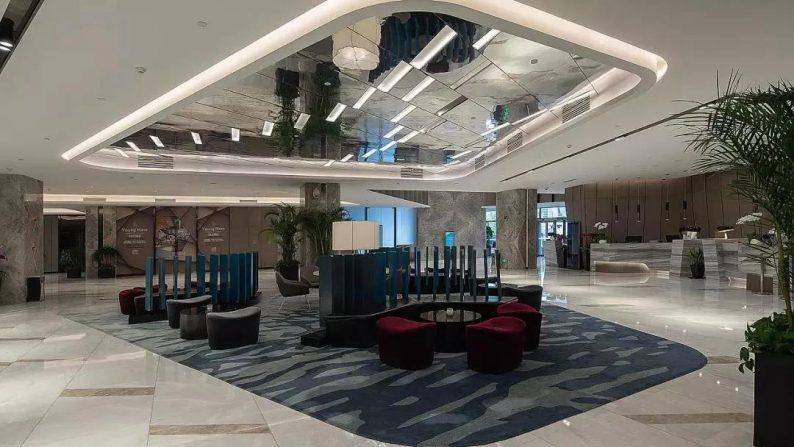 大师扎哈设计,这家宴会酒店做成时尚新潮综合体!  第9张