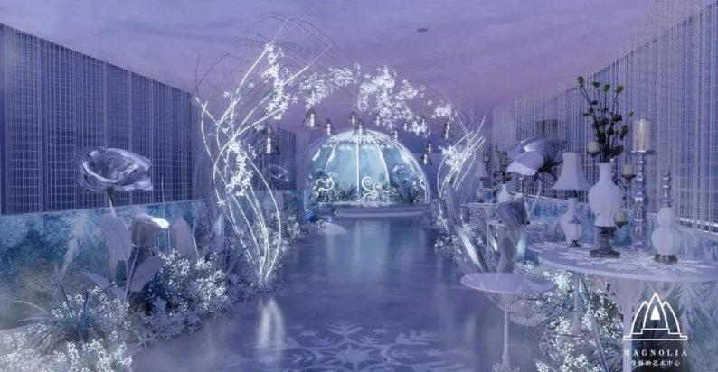 刷新魔都婚礼地标!曼格纳婚礼艺术中心新品发布  第10张