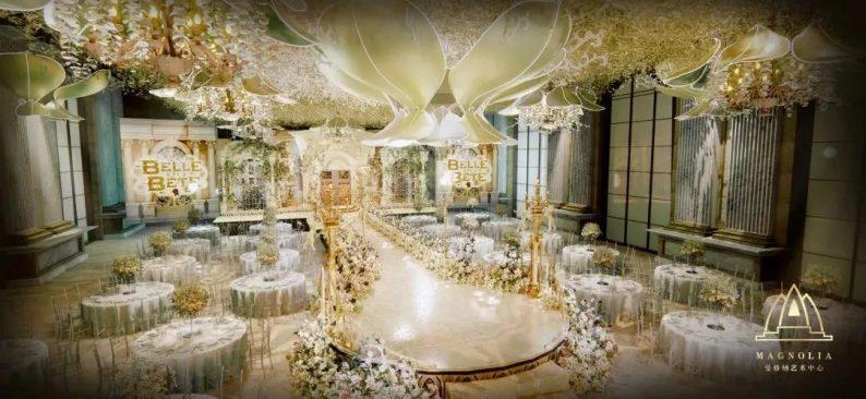 刷新魔都婚礼地标!曼格纳婚礼艺术中心新品发布  第25张