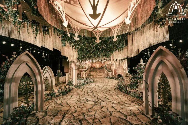 刷新魔都婚礼地标!曼格纳婚礼艺术中心新品发布  第27张