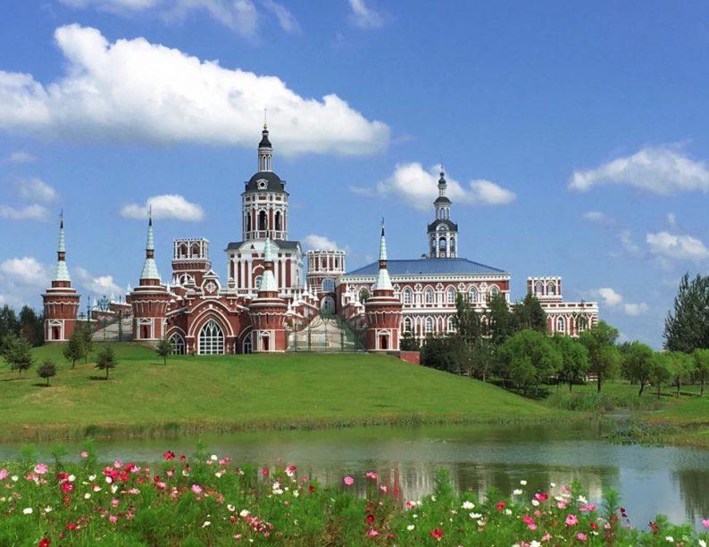 俄式风情宛如画,伏尔加庄园成草坪婚礼首选场地  第1张
