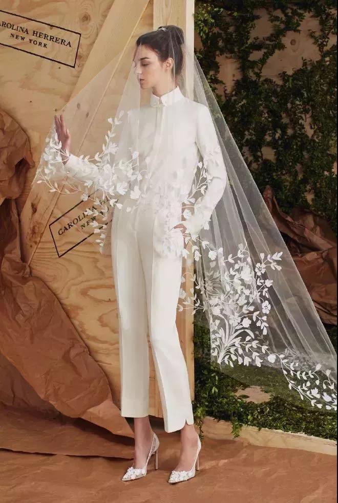 美出画的婚纱头纱,助你惊艳婚礼现场!  第10张