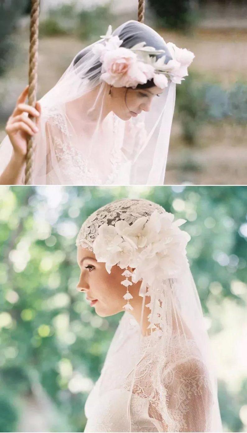 美出画的婚纱头纱,助你惊艳婚礼现场!  第18张