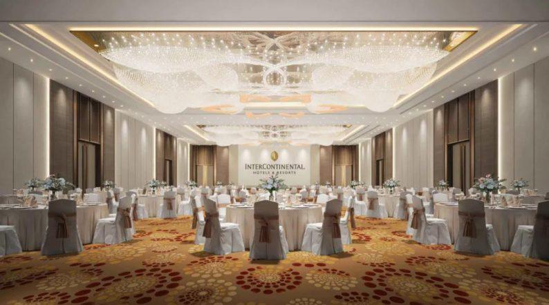 华丽蜕变!杭州洲际酒店925平米国际厅即将亮相  第10张