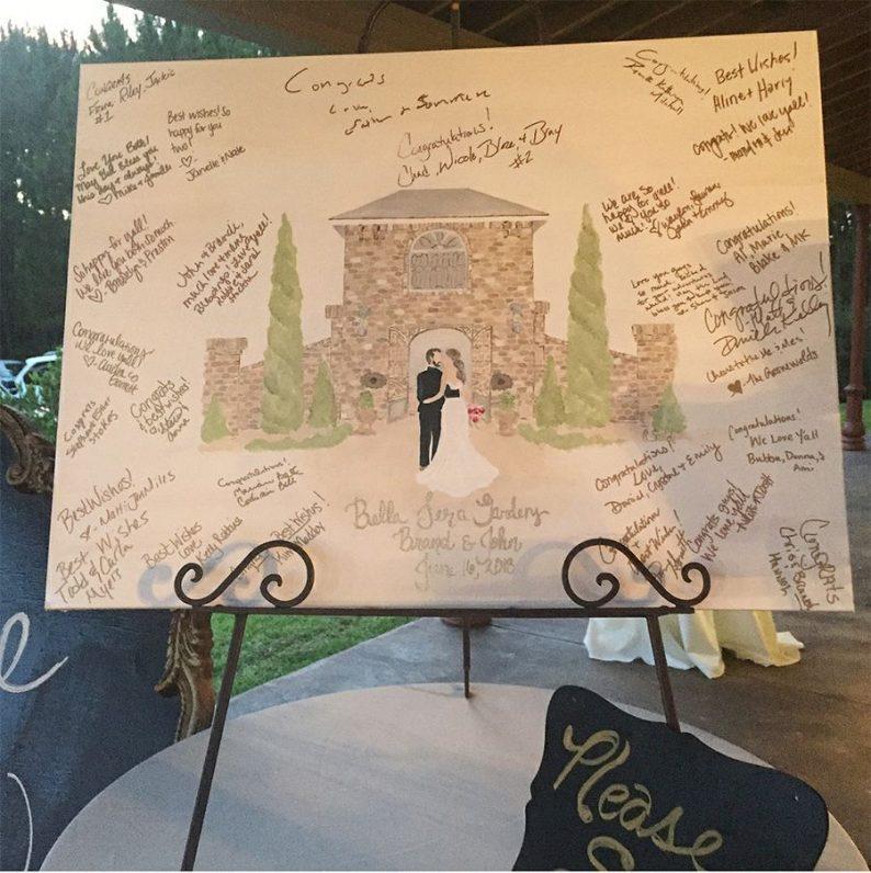 大红色签到簿,请不要再出现在婚礼签到台了!  第2张