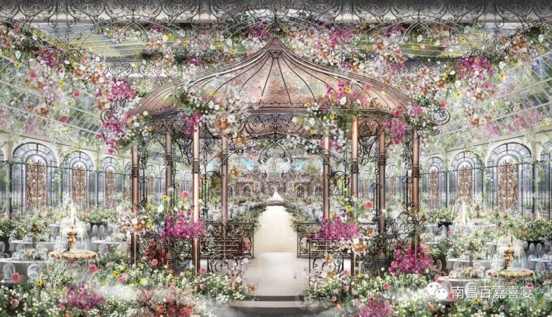 婚礼堂发布:12个百万级风格宴会厅!百嘉喜宴婚礼综合体启幕  第21张