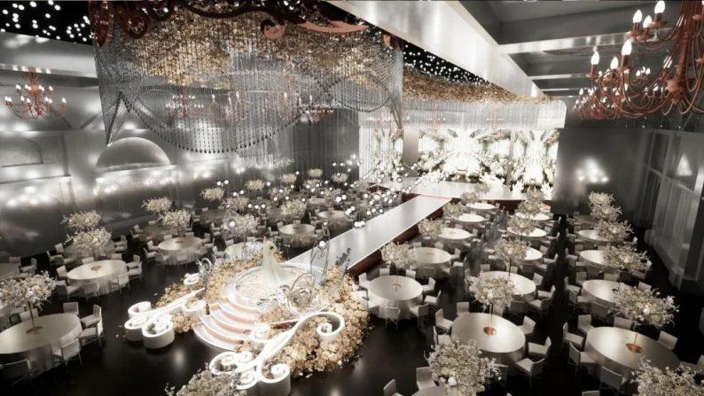 """婚礼堂发布:玺悦打造""""百万级""""十米挑高无柱宴会厅  第2张"""