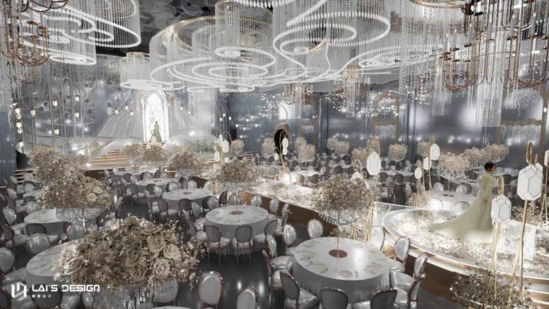 """婚礼堂发布:玺悦打造""""百万级""""十米挑高无柱宴会厅  第6张"""