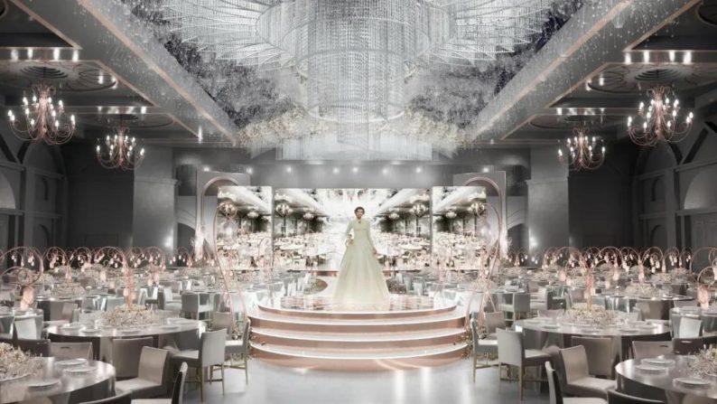 """婚礼堂发布:玺悦打造""""百万级""""十米挑高无柱宴会厅  第10张"""