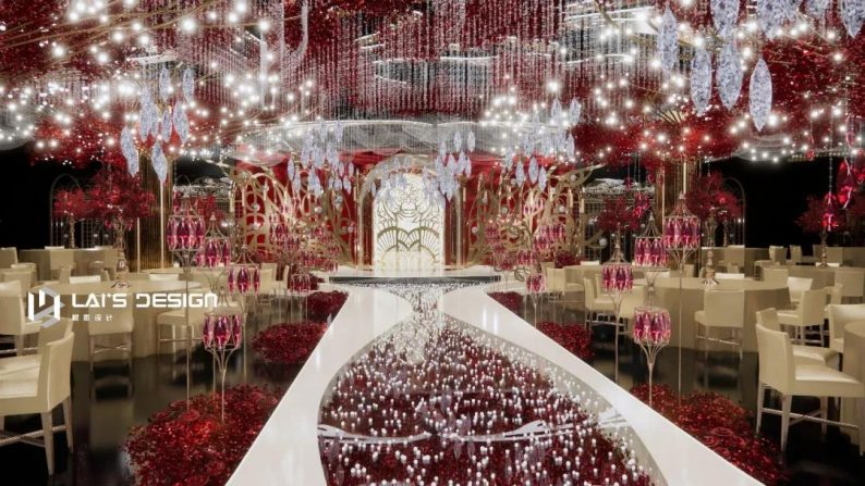 """婚礼堂发布:玺悦打造""""百万级""""十米挑高无柱宴会厅  第15张"""