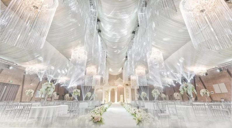 盘点:武汉13家婚礼堂,30+宴会厅、近千桌容量  第5张