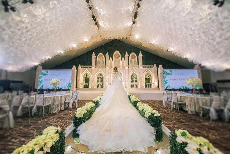 盘点:武汉13家婚礼堂,30+宴会厅、近千桌容量  第6张