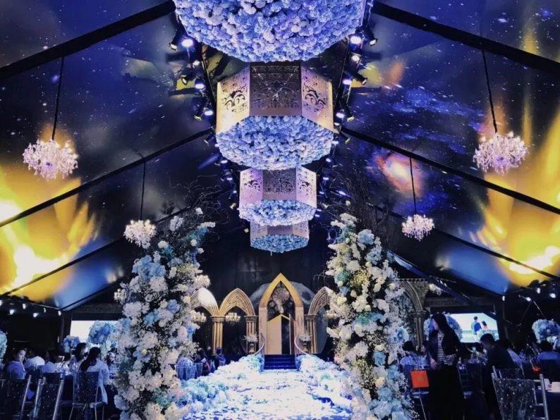 盘点:武汉13家婚礼堂,30+宴会厅、近千桌容量  第8张