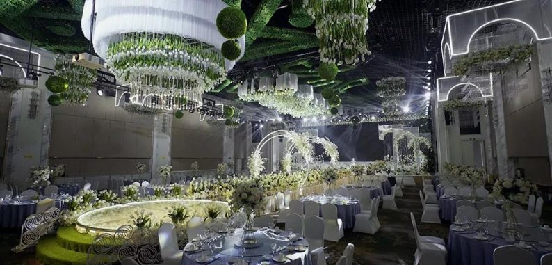 盘点:武汉13家婚礼堂,30+宴会厅、近千桌容量  第14张