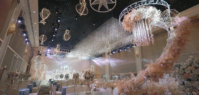 盘点:武汉13家婚礼堂,30+宴会厅、近千桌容量  第18张