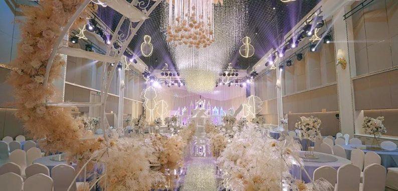 盘点:武汉13家婚礼堂,30+宴会厅、近千桌容量  第19张