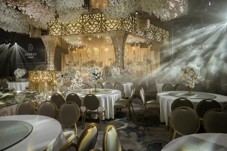 盘点:武汉13家婚礼堂,30+宴会厅、近千桌容量  第25张