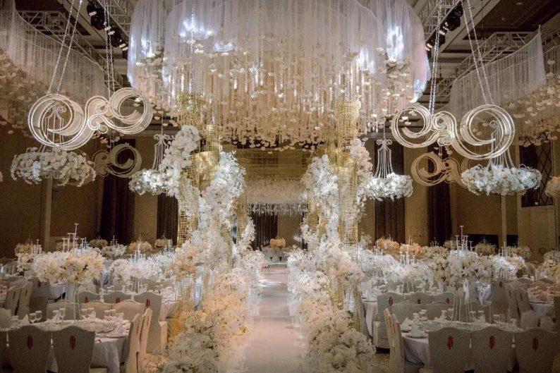 盘点:武汉13家婚礼堂,30+宴会厅、近千桌容量  第27张