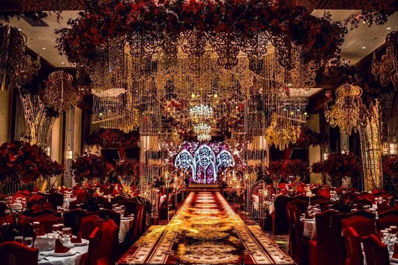 盘点:武汉13家婚礼堂,30+宴会厅、近千桌容量  第32张