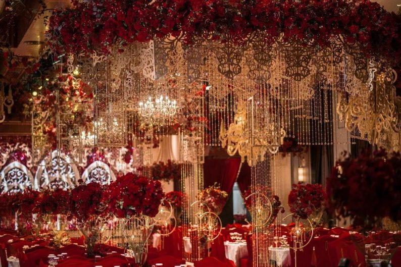 盘点:武汉13家婚礼堂,30+宴会厅、近千桌容量  第33张