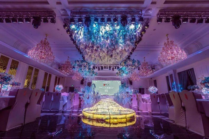 盘点:武汉13家婚礼堂,30+宴会厅、近千桌容量  第34张