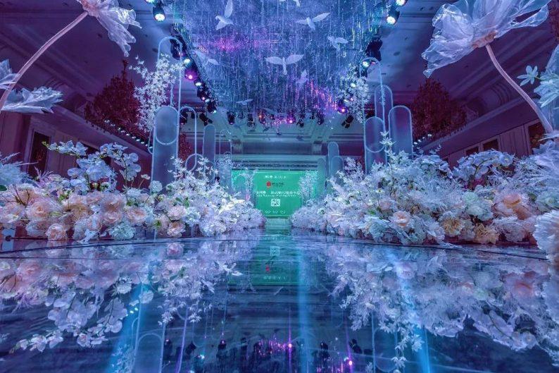 盘点:武汉13家婚礼堂,30+宴会厅、近千桌容量  第35张