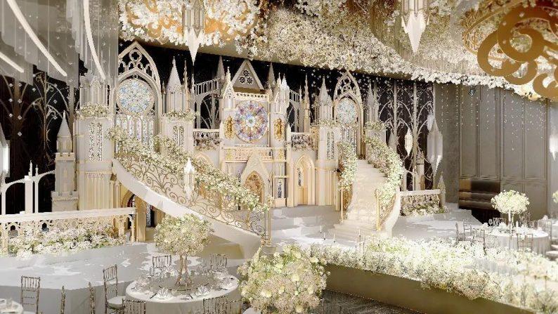 盘点:武汉13家婚礼堂,30+宴会厅、近千桌容量  第38张
