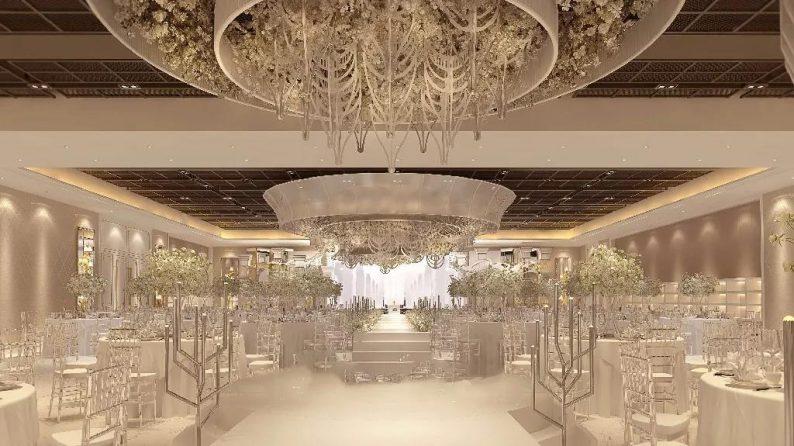 盘点:武汉13家婚礼堂,30+宴会厅、近千桌容量  第39张