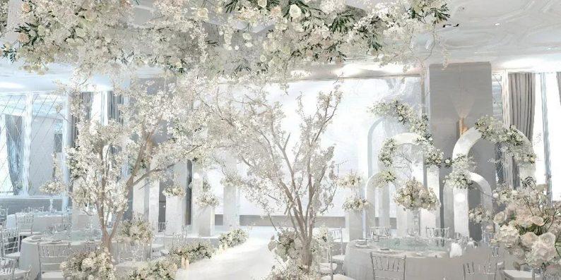 盘点:武汉13家婚礼堂,30+宴会厅、近千桌容量  第42张