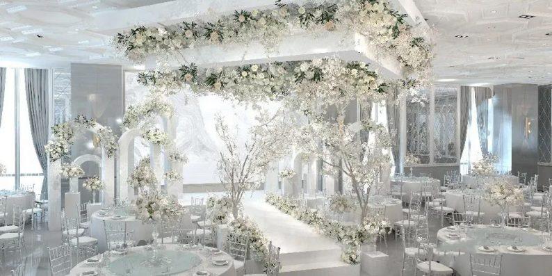 盘点:武汉13家婚礼堂,30+宴会厅、近千桌容量  第43张