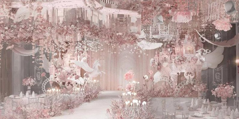 盘点:武汉13家婚礼堂,30+宴会厅、近千桌容量  第45张