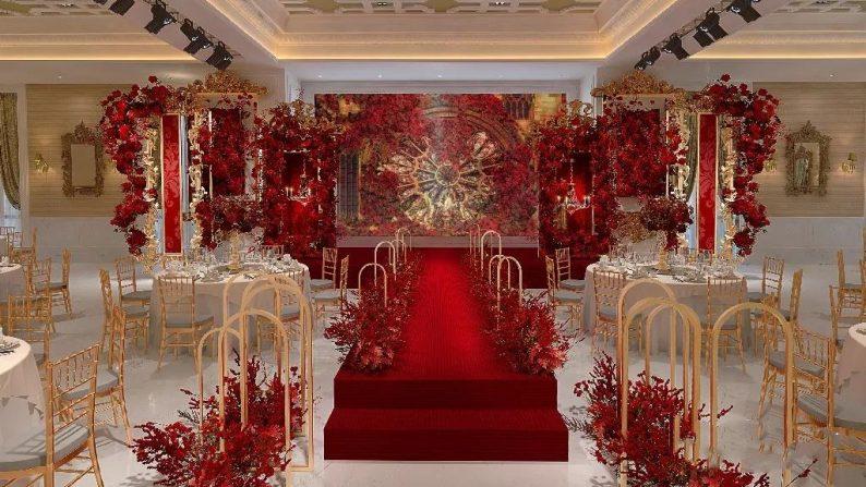 盘点:武汉13家婚礼堂,30+宴会厅、近千桌容量  第47张