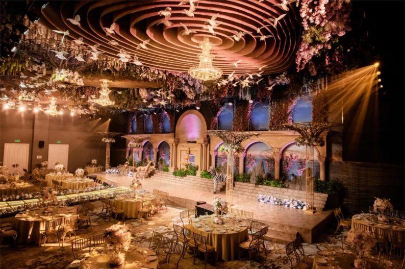 盘点:武汉13家婚礼堂,30+宴会厅、近千桌容量  第52张