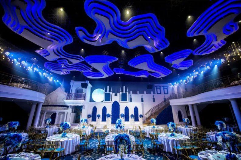盘点:武汉13家婚礼堂,30+宴会厅、近千桌容量  第55张