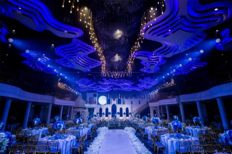 盘点:武汉13家婚礼堂,30+宴会厅、近千桌容量  第56张