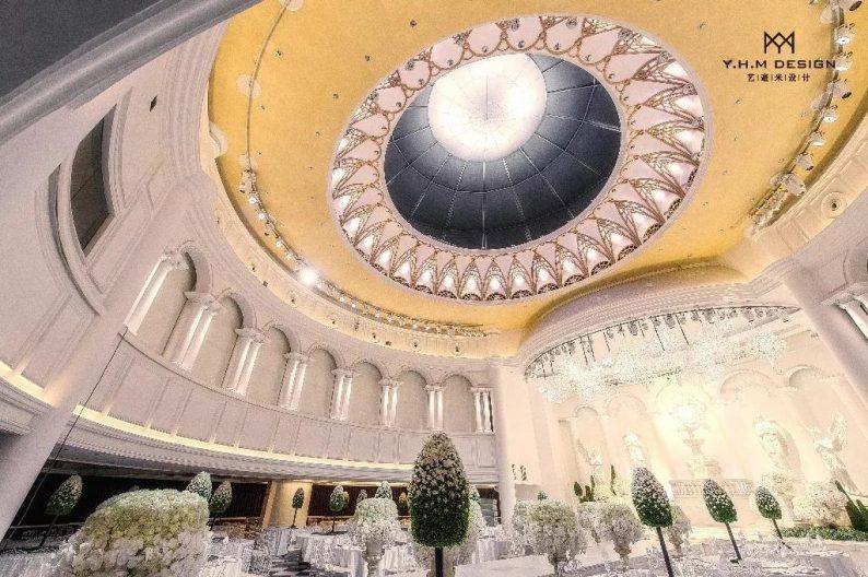 盘点:武汉13家婚礼堂,30+宴会厅、近千桌容量  第59张