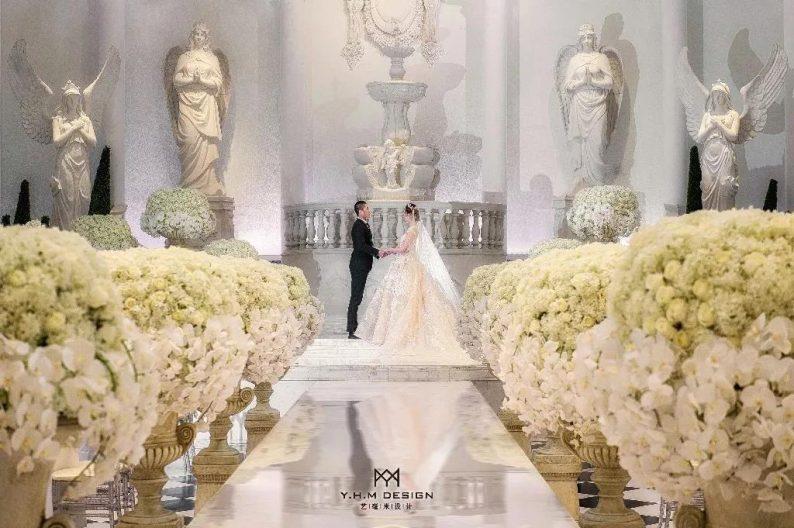 盘点:武汉13家婚礼堂,30+宴会厅、近千桌容量  第60张