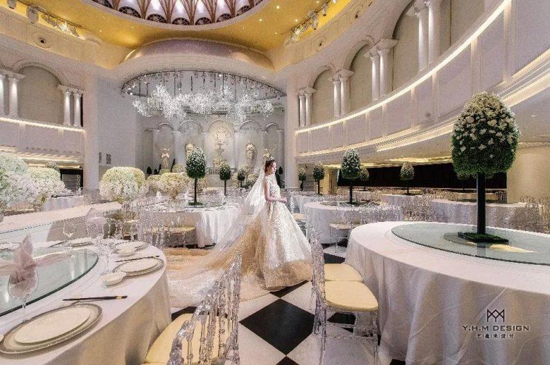 盘点:武汉13家婚礼堂,30+宴会厅、近千桌容量  第61张