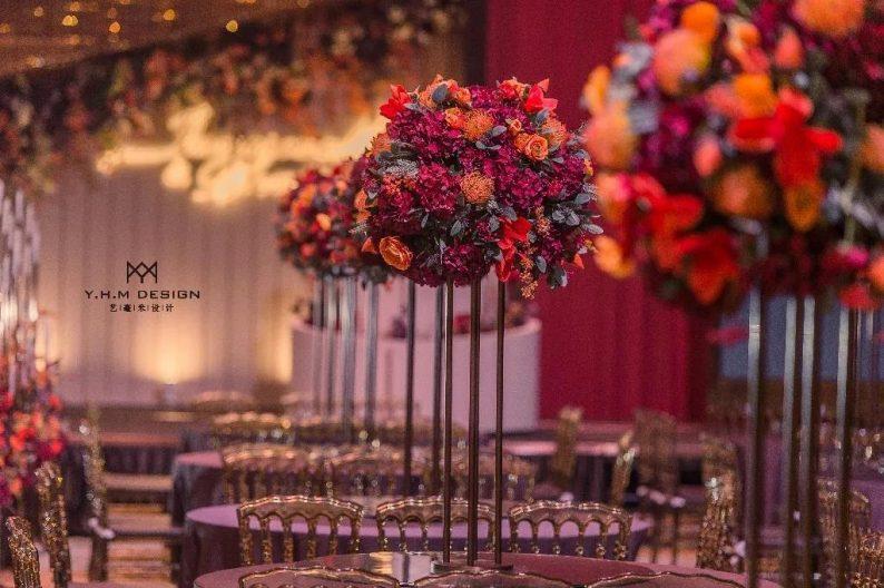 盘点:武汉13家婚礼堂,30+宴会厅、近千桌容量  第62张