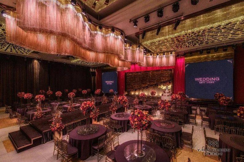 盘点:武汉13家婚礼堂,30+宴会厅、近千桌容量  第63张