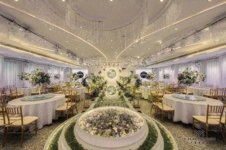 盘点:武汉13家婚礼堂,30+宴会厅、近千桌容量  第64张