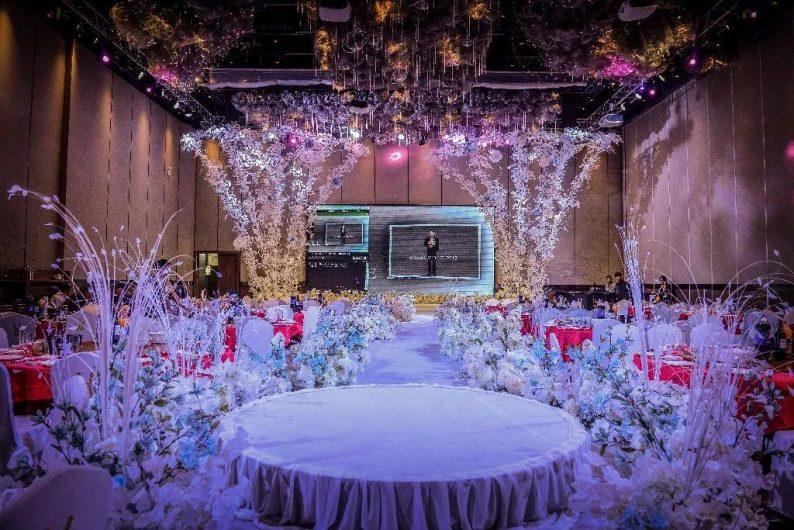 盘点:武汉13家婚礼堂,30+宴会厅、近千桌容量  第80张