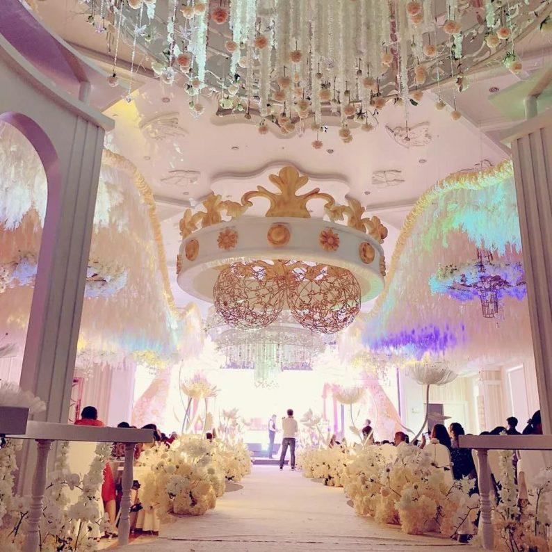 盘点:武汉13家婚礼堂,30+宴会厅、近千桌容量  第82张