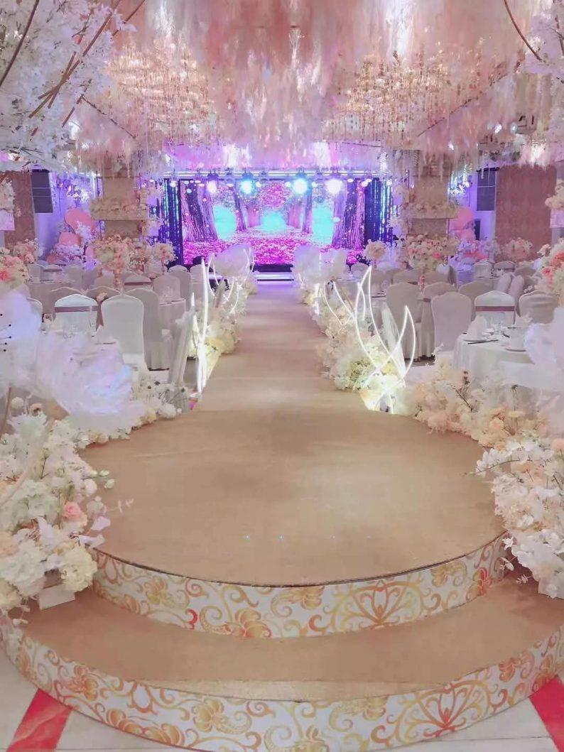 盘点:武汉13家婚礼堂,30+宴会厅、近千桌容量  第84张