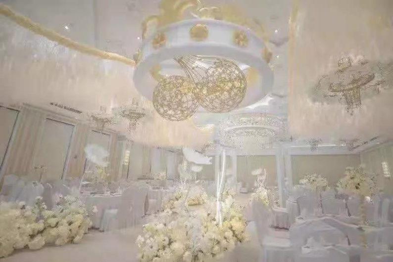盘点:武汉13家婚礼堂,30+宴会厅、近千桌容量  第86张