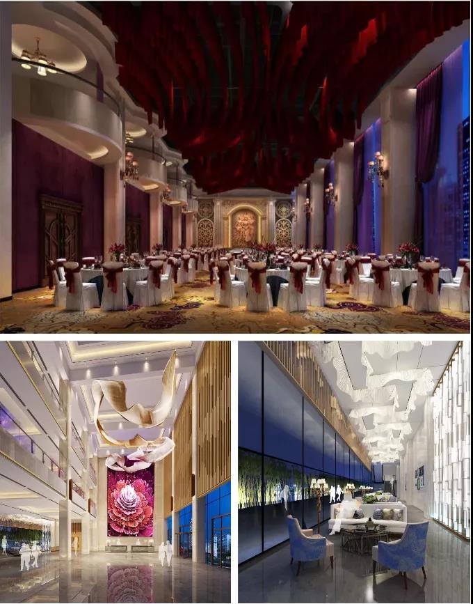 婚礼堂发布:1万平米8大宴会厅!九江首家婚礼主题宴会酒店  第3张