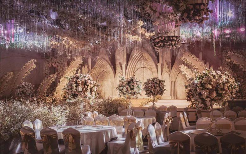 婚礼堂发布:1万平米8大宴会厅!九江首家婚礼主题宴会酒店  第15张