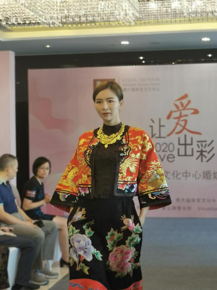 珠宝遇上婚纱!周大福文化中心婚嫁活动圆满举行  第2张