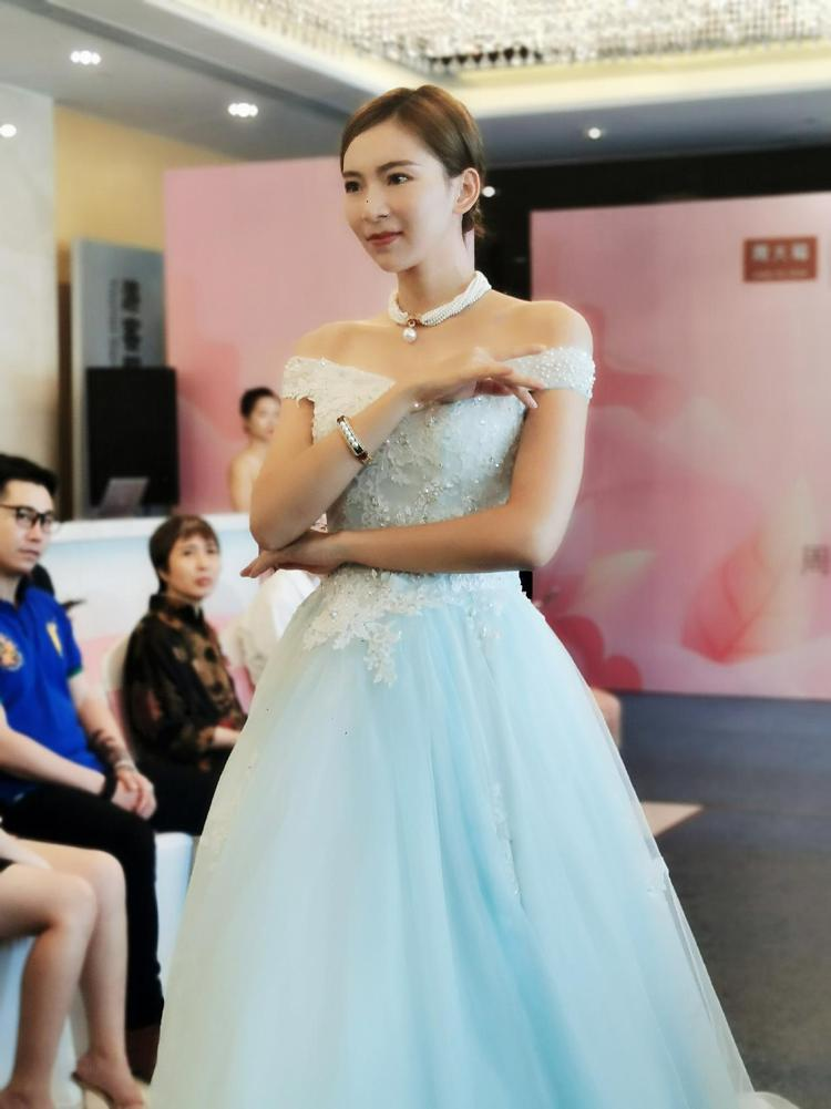 珠宝遇上婚纱!周大福文化中心婚嫁活动圆满举行  第5张