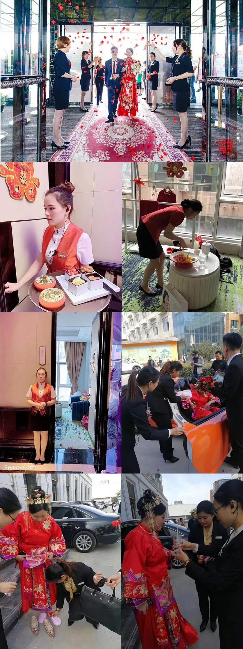 婚礼堂发布:蔡上团队倾力打造!大喜日子6大主题宴会厅  第10张
